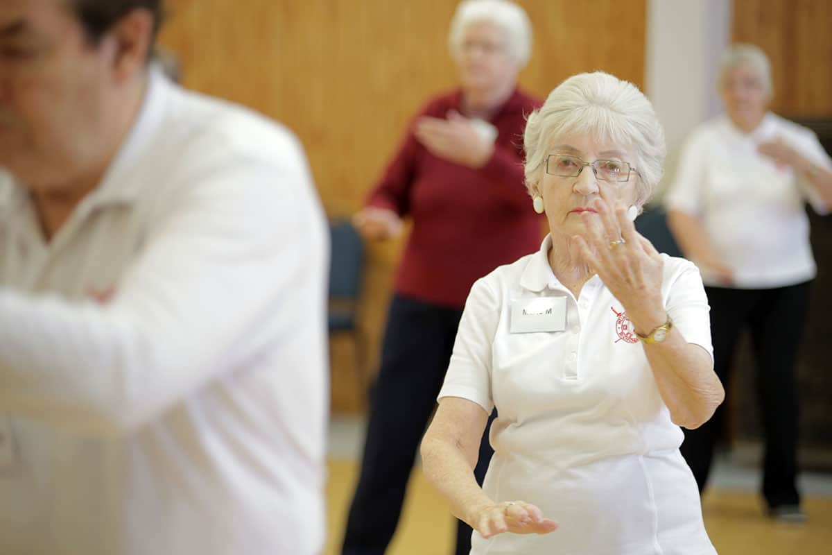 Wednesday Tai Chi Class
